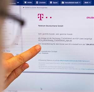 Falsche Telekom Rechnung : e mail von der telekom so erkennen sie falsche rechnungen ~ Themetempest.com Abrechnung