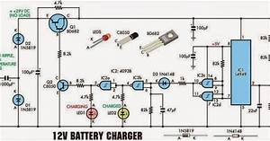 Electrical Engineering World 12 Volt Battery Charger Wiring Diagram