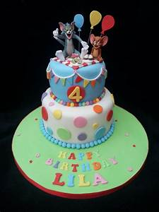 Tom and Jerry themed birthday cake - Cake by Helen ...