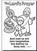 Prayer Coloring Sunday Lords Pages Colorir Father Activities sketch template