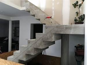 Habiller Un Escalier En Béton Brut : b ton cir sur escalier b ton brut rh27 jornalagora ~ Nature-et-papiers.com Idées de Décoration