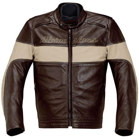Drift Leather Jacket By Alpinestars (silodrome