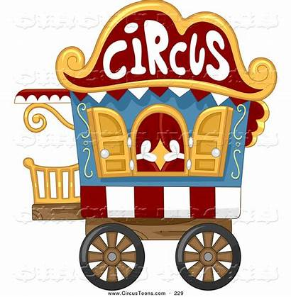 Circus Caravan Cart Clipart Bnp Studio