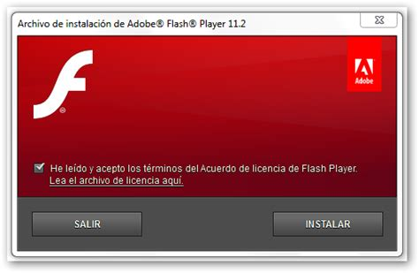 And in just under two weeks, adobe will block all flash content from working in flash player. Actualización - Adobe Flash Player 11.2 Beta 1 disponible