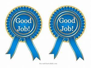 Free Good Job Sticker Printables Print On Paper And