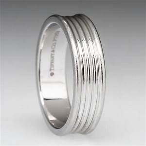 Tiffany Co Five Row Band Ring In Platinum Retail 1800
