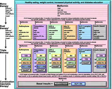 diabetes treatment algorithm time  care
