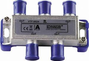 Kabel Tv Verteiler : kabel tv verteiler schwaiger vtf8824 4 fach 5 1000 mhz kaufen ~ Orissabook.com Haus und Dekorationen