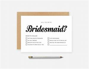 Personalised custom will you be my bridesmaid maid for Wedding invitations honor or honour
