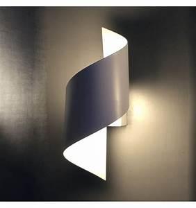 Applique Murale Moderne : applique murale blanc designer led moderne typhoon ~ Teatrodelosmanantiales.com Idées de Décoration