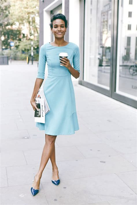 Light Blue Flats Outfit | www.pixshark.com - Images Galleries With A Bite!