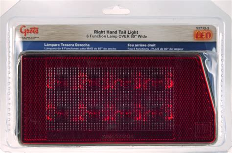 grote submersible led trailer lights 52712 5 submersible low profile led trailer light for