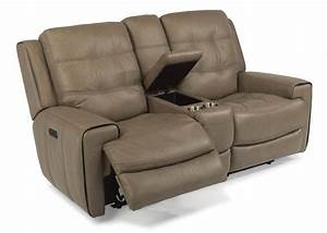 Sofa recliner couch bed sleeper sofa power recliners for Sectional sofa with one recliner