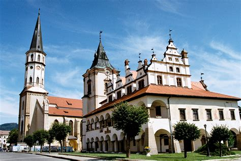Best places to visit in the medieval town of Levoča (UNESCO)