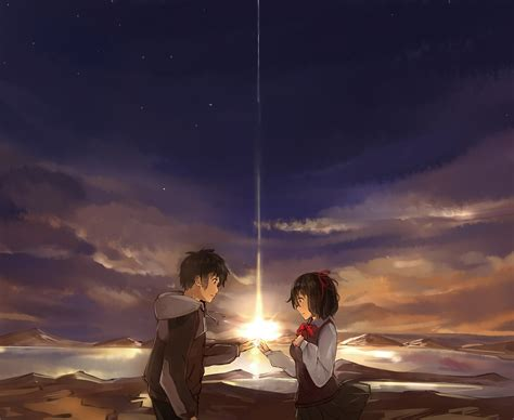 Anime Your Name Kimi No Na Wa Link 2016 Random Thoughts Kimi No Na Wa Your Name Image 2049259 Zerochan
