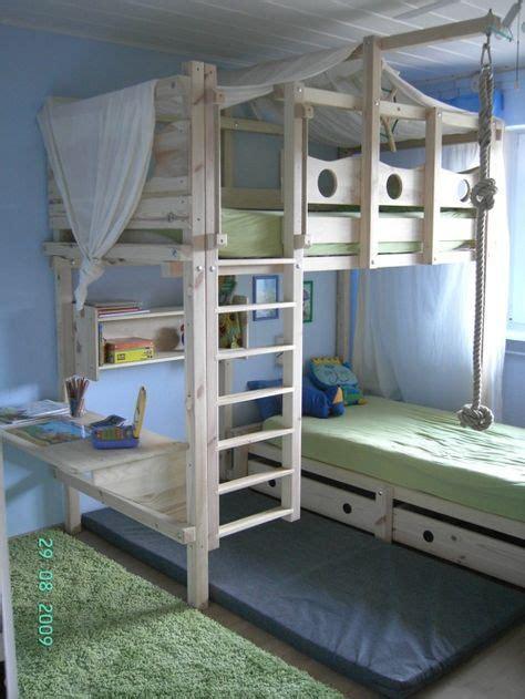 Kinderzimmer Jungen Hochbett by Die Besten 25 Hochbett Kinder Ideen Auf