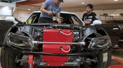 electric chevrolet camaro drift car  fd gm authority