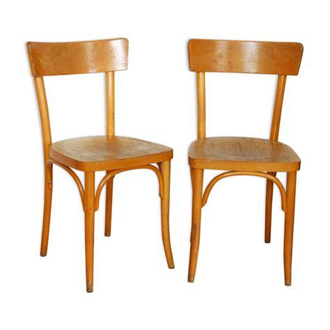 chaise bistrot thonet paire de chaises bistrot thonet mes petites puces
