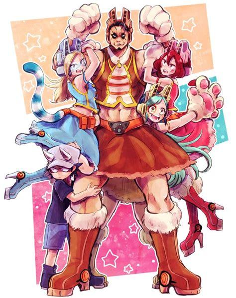 boku no hero academia pixie bob kouta izumi tiger mandalay ragdoll boku no hero