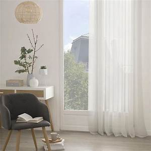 Voilage A Oeillet : voilage l ger uni oeillets ivoire blanc bleu gris rose homemaison vente en ~ Teatrodelosmanantiales.com Idées de Décoration