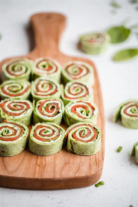 smoked salmon pinwheels recipe salmon pinwheels