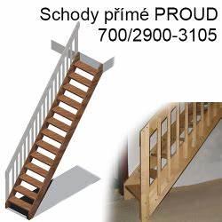 Schody proud