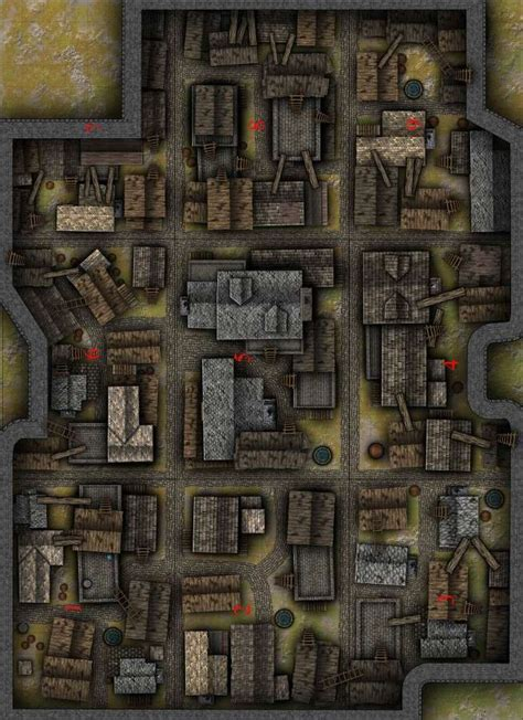 rooftops battlemap spqr games drivethrurpgcom