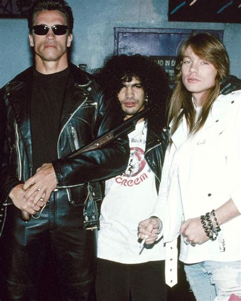 axl rose you could be mine arnold slash and axl promoting quot you could be mine quot for the