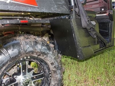polaris ranger  mid size dirt stoppers mud blockers