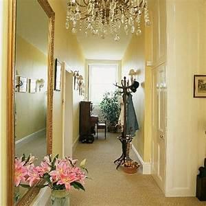Grand Miroir Vintage : d co couloir am nagement en 30 photos ~ Teatrodelosmanantiales.com Idées de Décoration