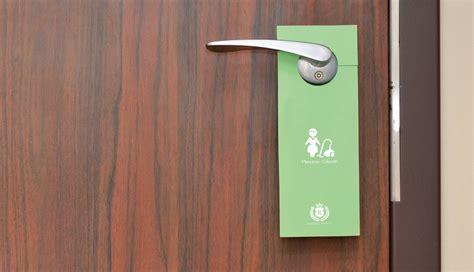 door hanger brackets 4 way to make the most of your hotel door hangers
