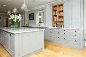 Solid Wood Kitchen Furniture Classic Grey And White Kitchen Bespoke Handmade Wood Kitchens By Maple And Gray