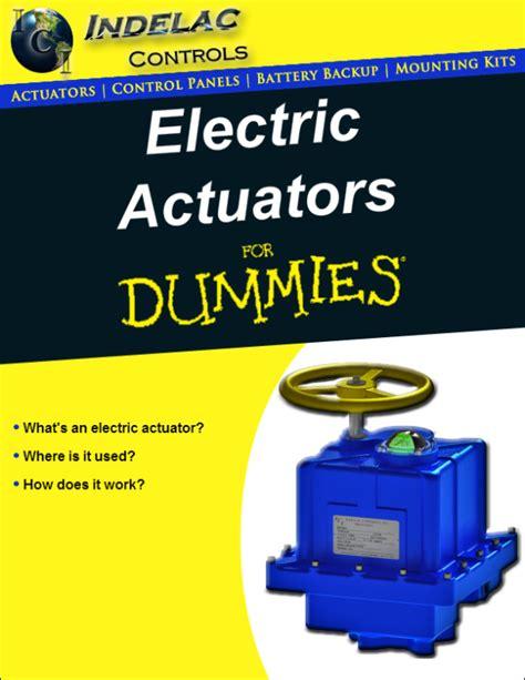electric actuators for dummies