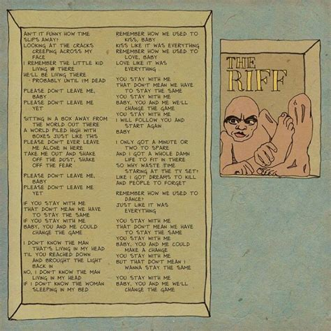 The Riff | Dave matthews, Dave matthews band, Lyrics meaning