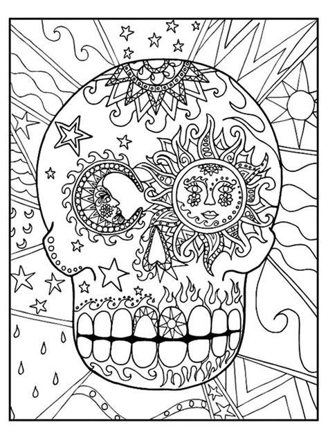 Sugar Skull | Coloring Book | Pinterest | Sugar skulls