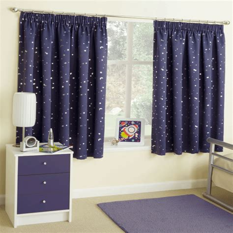 moonlight navy ready made curtains