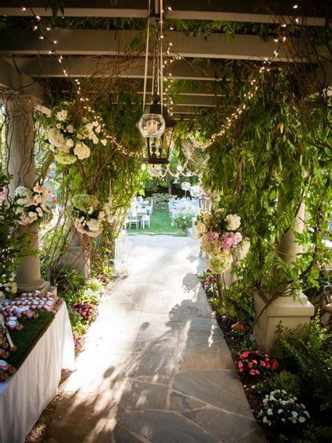 garden wedding reception ideas hgtv