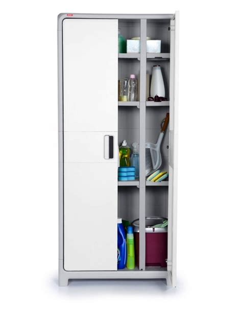 tall plastic storage cabinets plastic storage cabinet tall cupboard pantry home garage