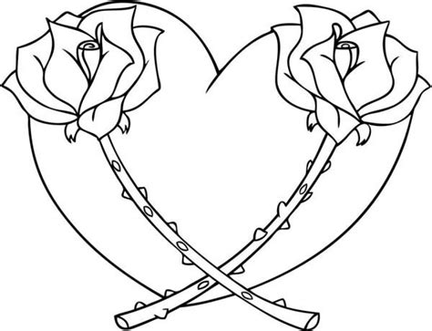 printable hearts coloring pages