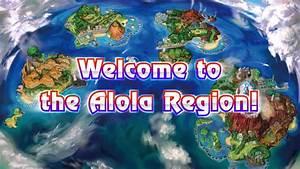 Pokemon Sun And Moon All Alola Region Pokemon Type And