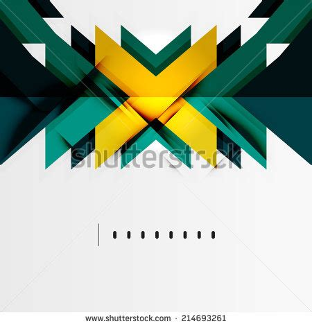 Abstract Minimal Shapes by Tech Futuristic Geometric 3d Shapes Minimal Abstract