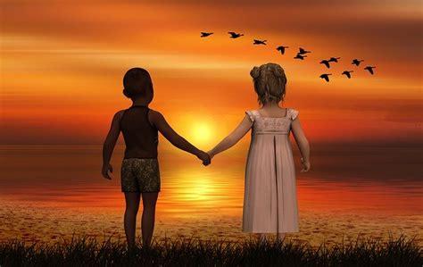 children  skin color  photo  pixabay