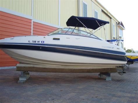 Four Winns Boats Pictures by 2004 Four Winns 24 Deck Boat Powerboat For Sale In Florida