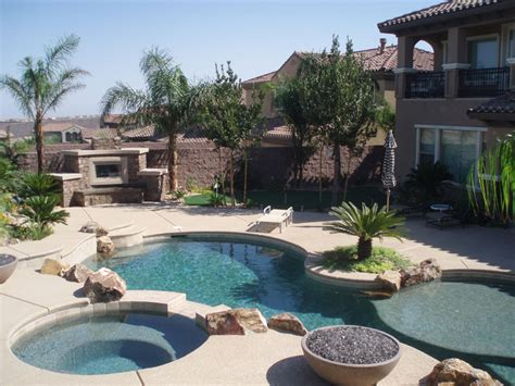 landscaping pools pool landscapes las vegas pool builder designer and contractor greencare net