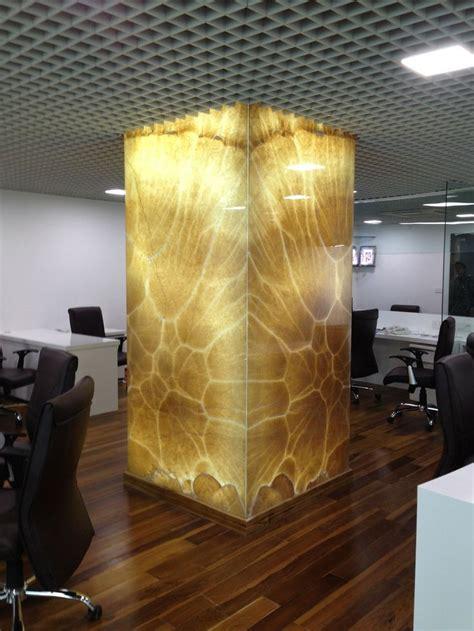 onyx column columns decor marble house cladding design