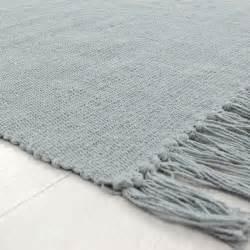 petit tapis gris bleu pas cher en coton 50x80cm With tapis coton pas cher