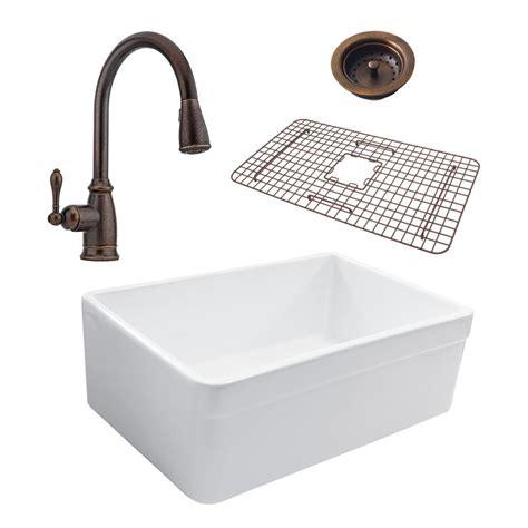 all in one kitchen sink sinkology wheatley reversible all in one farmhouse