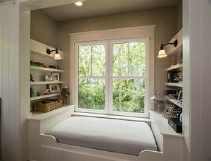 Alcove bed ideas bedroom traditional with white shelves