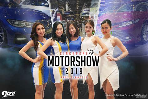singapore motorshow part  models tro