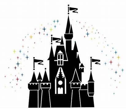 Clipart Kingdom Magic Castle Silhouette Cinderella Clipground